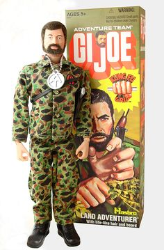 GI JOE was the ultimate masculine man, back in the day (lol)...=))