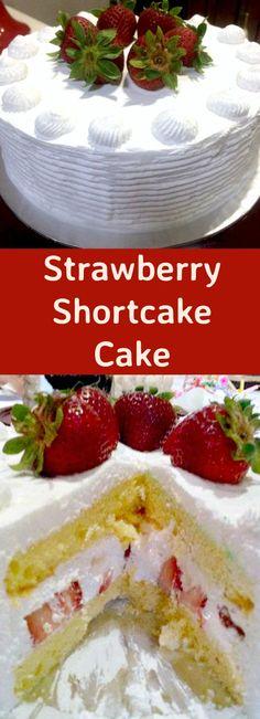 how to make easy strawberry shortcake