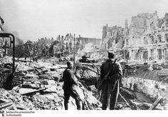 Berlin 1945 Große Frankfurter Straße/Frankfurter Allee