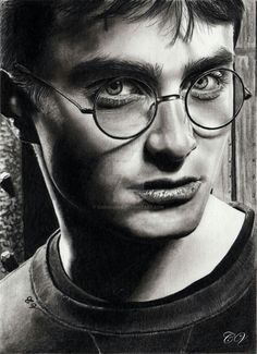 Secrets Of Drawing Realistic Pencil Portraits - Pencil Artist Corinnes Portraits (French) Realistic Pencil Drawings, Pencil Art Drawings, Cool Drawings, Horse Drawings, Drawing Drawing, Drawing Artist, Animal Drawings, Harry Potter Sketch, Harry Potter Drawings