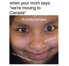 Lol I live in Canada Funny Facts, Funny Memes, Hilarious, Cameron Alexander Dallas, I Love Him, My Love, Shawn Mendes Memes, The Power Of Music, Mendes Army