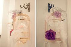 birdcage display for birdcage veils