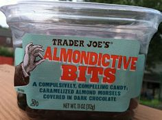 Trader Joe's Almondictive Bits (They truly are! Trader Joe's Cheese, Chocolate Morsels, Middle School English, Whats Good, Teacher Quotes, Trader Joes, Healthy Food, Sweets, Store