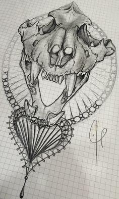 Alexbreak : Ornemental skull tiger