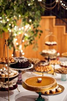 Fall wedding dessert table. … | My Dream…