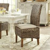 Woven Seagrass Side Chairs #birchlane
