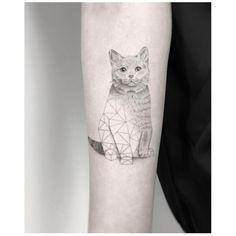 """4,261 curtidas, 51 comentários - Jakub Nowicz (@jakubnowicztattoo) no Instagram: """"Meow """""""