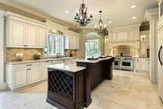 images of eleganmt traditional kitchens - Yahoo Image Search Results