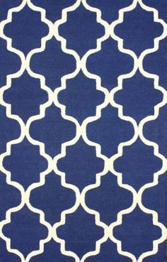 I think this is the one you liked but in yellow? Rugs USA Tuscan Trellis VS71 Navy Rug