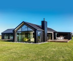 Peeks at perfection House Image 0 house conversion house ideas house interior house interior floor plans house interior small house plans Modern Barn House, Barn House Plans, Dream House Plans, Modern House Plans, Modern House Design, Barn House Design, House Cladding, Facade House, House Exteriors
