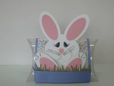 Punch Art Bunny Pillow Box Treat