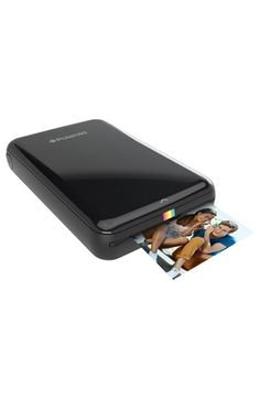 Free shipping and returns on Polaroid 'Zip' Mobile Instant Photo Printer at Nordstrom.com. If you find yourself missing the feel of a photo in your hands, this printer is ready to pick up the slack. You can print instantly from any smartphone or tablet via Bluetooth or NFC and the end product is a vibrant, smudge-proof snapshot with a sticky back for extra fun. Even better, the printer uses ZINK® Zero Ink® Technology, so you won't have to fuss with cartridges or toner anymore.