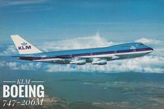 KLM BOEING 747-206M