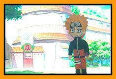 Naruto em feltro #narutouzumaki #narutoshippuden #Narutofeltro #tuliparteira