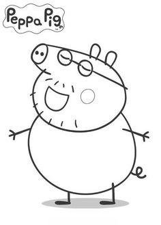 Peppa Pig Da Colorare Foto