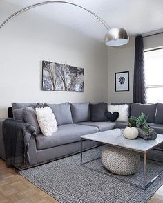 Sectional Sofas - Furniture Buying And Caring For Your Home Furnishings Sectional Coffee Table, Grey Sectional Sofa, Modular Sectional Sofa, Living Room Sectional, Modern Sectional, Coffee Tables For Sectionals, Sofa Furniture, Living Room Furniture, Living Room Decor