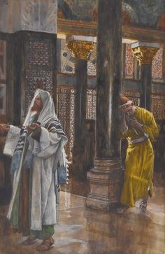 00 James Jacques Joseph Tissot. The Pharisee and the Publican. 1894