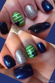 New Seahawks nails!