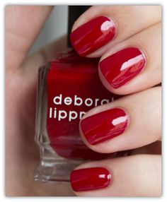 Deborah Lippmann My Old Flame Nail Polish (+ Love Notes Lip Duet)