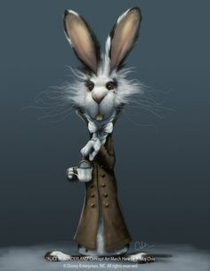 Writing is a rabbit hole that plunges inward. Where there are rabbit holes, naturally, there are rabbits.