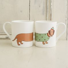 Larry the Long Dog Mug | Mary Kilvert