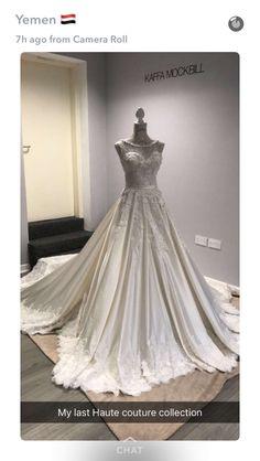 Kafa Mockbill- wedding dress