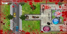 Revenge of the Villains . This is a top down action game. You will have to play the role of zombie here unlike the other games. Move sneaking from human (AI bots) who have guns and ready to shot you down. Find the bomb planting zone to plant the bomb. Successful explosion of the bomb kills all the humans and gives you a win
