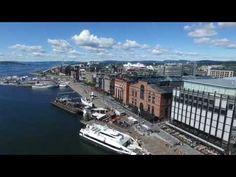 Drone Oslo - YouTube