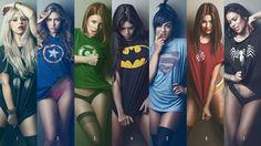 Obrázek marvel-t-shirt-thor-zhenschin-superman-green-lantern