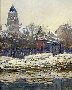 Claude Monet - Eglise de Vétheuil - 1879
