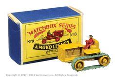 Matchbox Regular Wheels No.8A Caterpillar Tractor   Vectis Toy Auctions