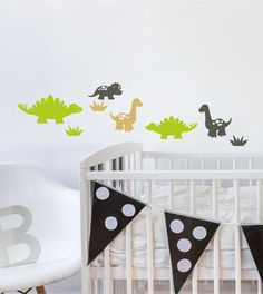 Lovely Dinosaurier Set farbig
