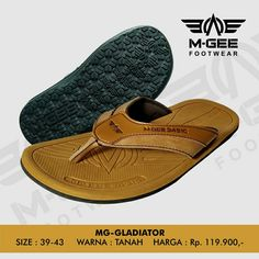 M-GEE Footwear MG-GLADIATOR Tan