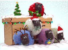 Sheep Christmas Card Pack