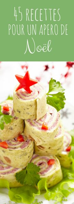 Petits fours, rolls, toasts: 45 recipe ideas for a Christmas aperitif! Tapas, Xmas Food, Snacks Für Party, Christmas Brunch, Antipasto, Creative Food, Love Food, Holiday Recipes, Food Porn