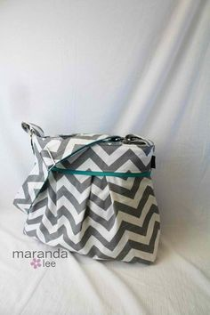 Love this purse idea, very cute design and pattern.