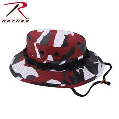c0a3bb94385c Rothco Camo Poly Cotton Boonie Hat - Red Camo Only  8.19  Price subject to