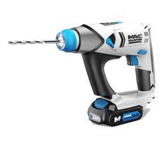 Perceuse-visseuse-perforateur sans fil MAC ONE MAC ALLISTER 14.4V - 2Ah pas cher prix promo Perceuse Castorama 129.90 €