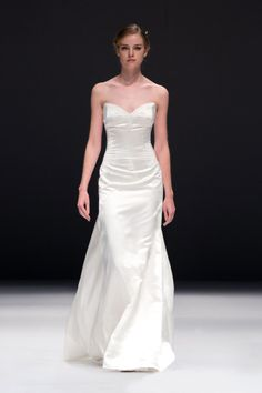 Classic strapless dress from Jenny Lee: http://www.stylemepretty.com/2014/10/29/designer-spotlight-from-the-smp-look-book/