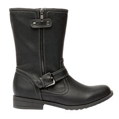 TLZC Women's Fashion Size Zipper PU Mid-Calf Riding Boots ** Insider's special review you can't miss. Read more  : Boots