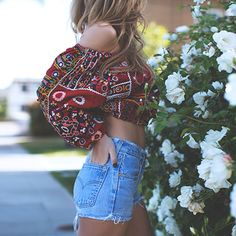 street-style-look-boho-blusa-cigana