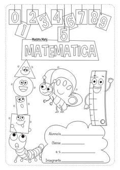 copertina di matematica scuola