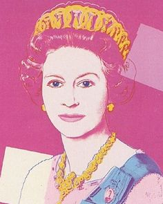 "Andy Warhol's ""Reigning Queens Portfolio: Queen Elizabeth II of the United Kingdom"""
