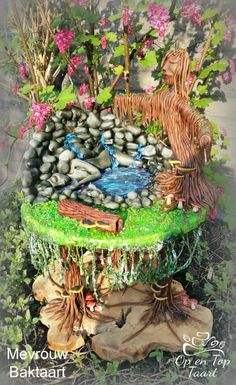 Little Pieces of Paradise - Acts of Green UNSA -2016 - Cake by Op en Top Taart
