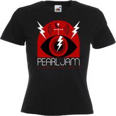 PEARL JAM  women   T Shirt by lockshirt on Etsy, $15.99