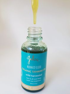Mermaid Elixir Certified Organic Tamanu Oil 30ml | Julisa.co