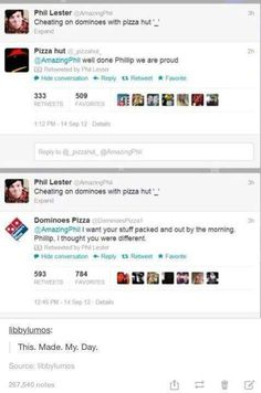 Cheating on domino, tumblr funny