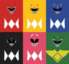 Gotta love the Power Rangers! The Mighty Morphing Power Rangers is one series, along with many others, that I will cherish forever. Power Ranger Party, Power Ranger Cake, Power Ranger Birthday, Power Rangers Dino, Power Rangers Shirt, Mighty Morphin Power Rangers, Minimalist Poster, Minimalist Art, Powe Rangers