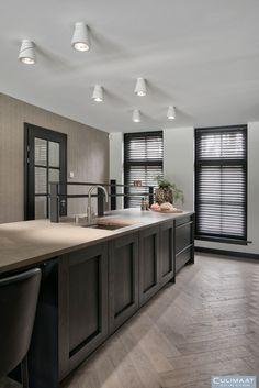 Exclusive kitchen in Wageningen - culuat - high end kitchens - Kitchen Design Open, Interior Design Kitchen, Kitchen Decor, Eclectic Kitchen, Kitchen Designs, Interior Decorating, Decorating Ideas, Luxury Kitchens, Home Kitchens