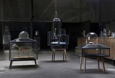 Steel Display Cabinets by Sylvie Meuffels • Selectism